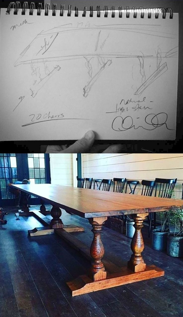 JOJO'S Vision and Clints Before and After: 17-foot Dining