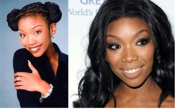 Then Now Moesha Mitchell Moesha Brandy Norwood Celebrities Then And Now Black Actresses Black Kids