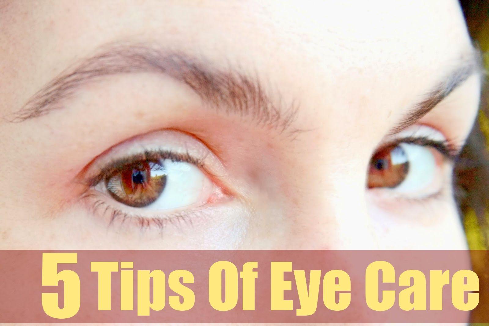 5 Tips of Eye Care Eye care, Beauty tips in urdu, Beauty