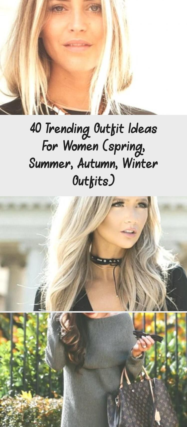 40 Trending Outfit Ideas For Women spring Summer Autumn Winter Outfits 40 Trending Outfit Ideas for Women Spring Summer Autumn Winter Outfits