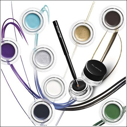 shu uemura's painting gel eyeliner  gel liner gel