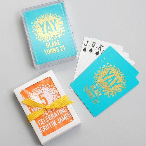 Get Your Poker Face Ready When You See These Custom Birthday Playing Cards In Person
