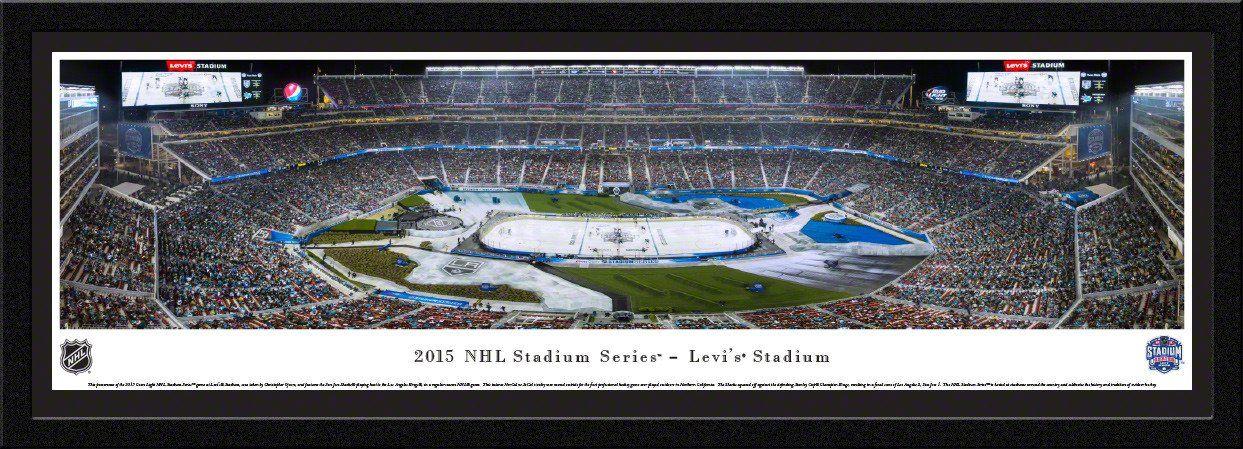 2015 Stadium Series Panoramic Picture Framed Stadium