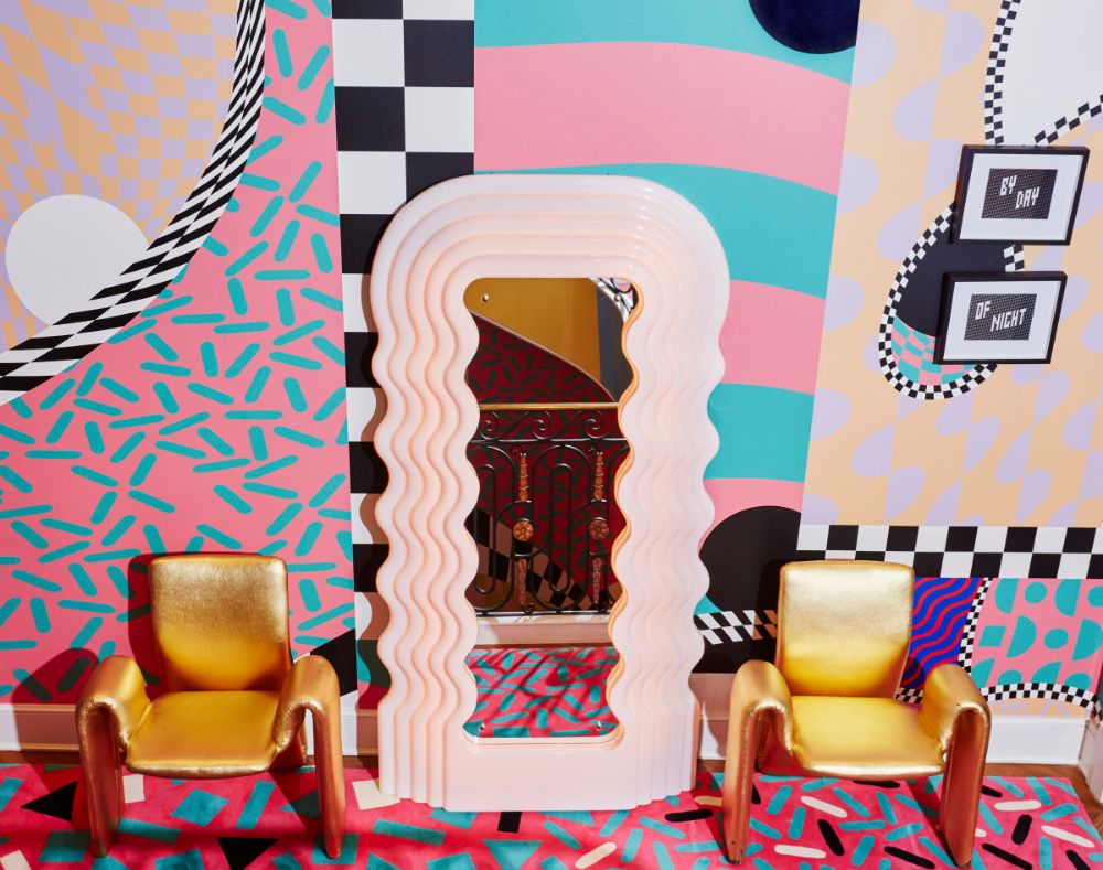 The Ettore Sottsass Ultrafragola Mirror Is Having a Moment