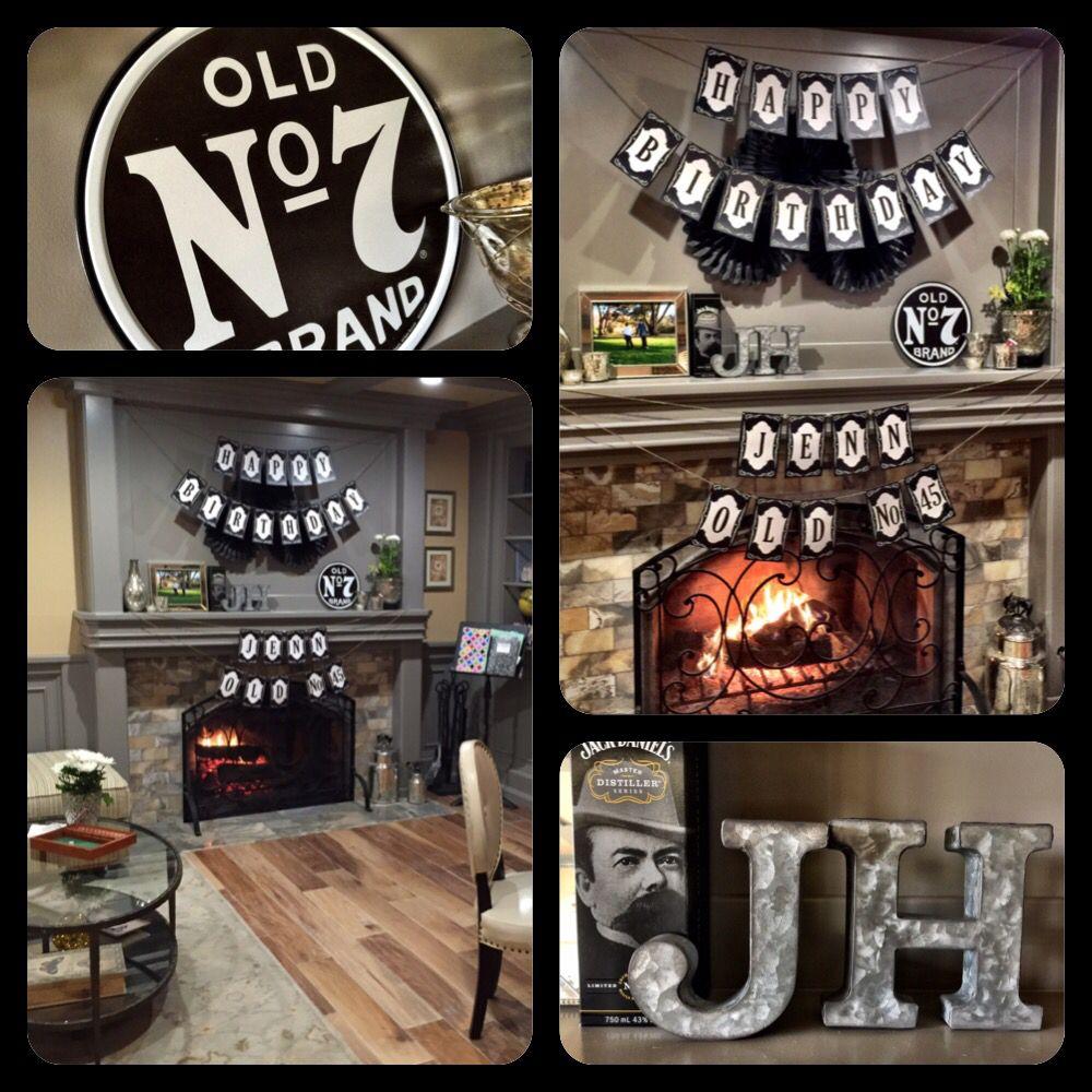 Jack Daniel's Birthday Decor