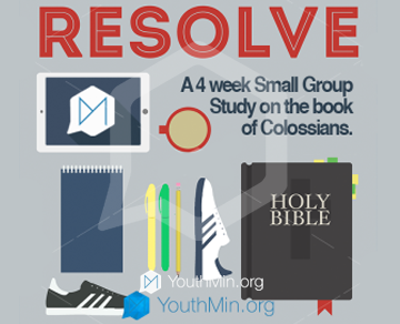 Resolve 4 Week Youth Ministry Small Group Curriculum Youth Ministry Youth Ministry Lessons New Year Sermon