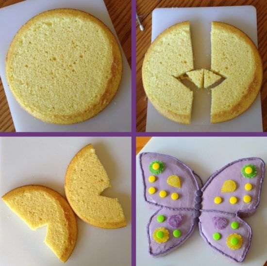 How To Make A Beautiful Butterfly Cake   The WHOot