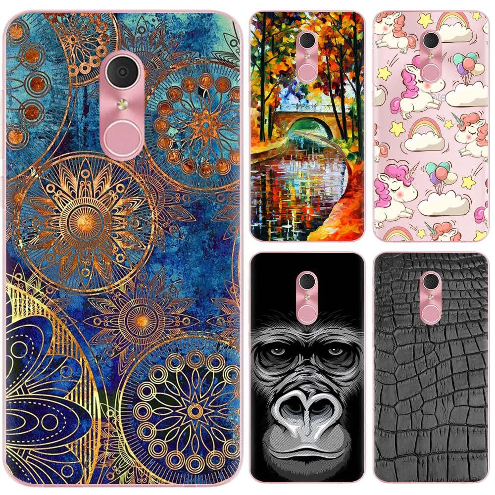Phone Bags & Cases Reasonable Good Quality Colorful Cases For Alcatel Shine Lite Ot 5080 Printing Phone Girls Cover Silicone Soft Case