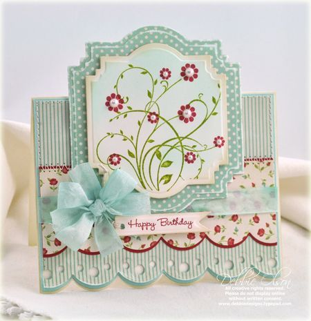 Get The Knowledge Blog Frenzy Spellbinders Cards Birthday