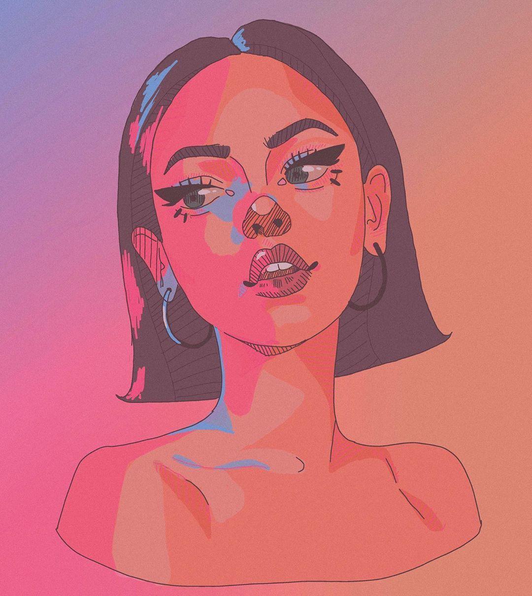 Aesthetic Girl Drawing Tutorial