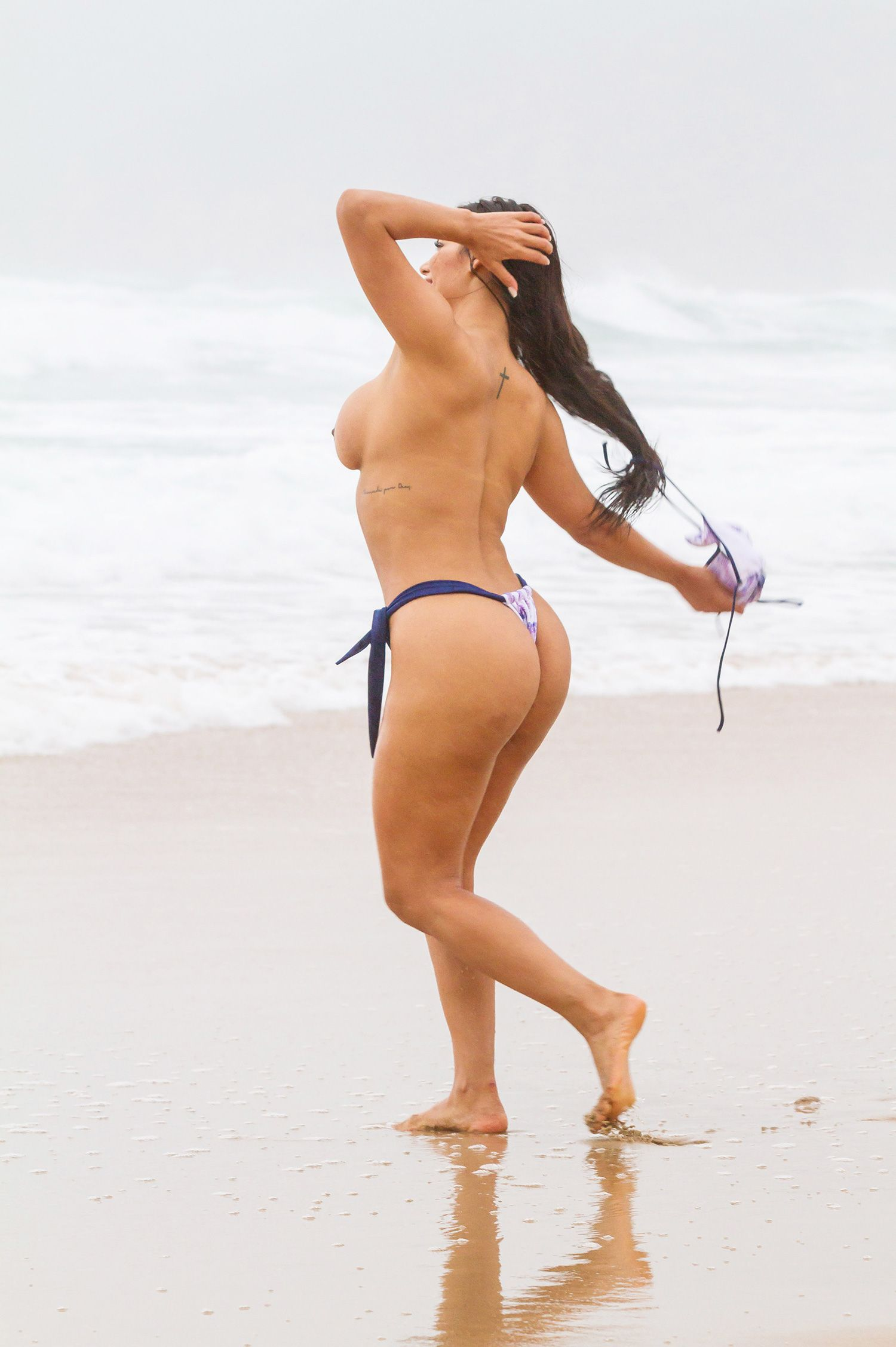 Topless portugese girls at the beach