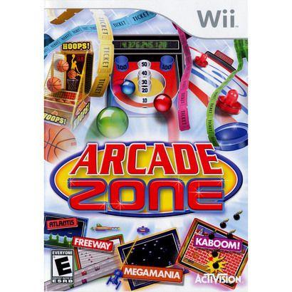 Arcade Zone Nintendo Wii 25 Wii Games Arcade Wii