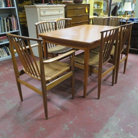 How To Update An Old Dining Room Set Fair Sold$1595Setvintage Mid Century Swedish Modern Dining Table Inspiration