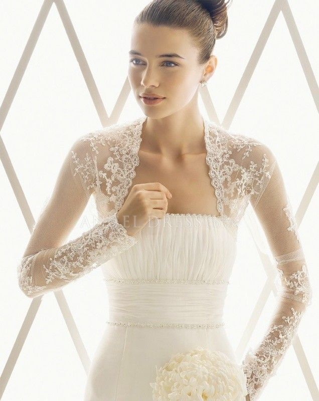 Lace jackets for wedding dresses uk stores