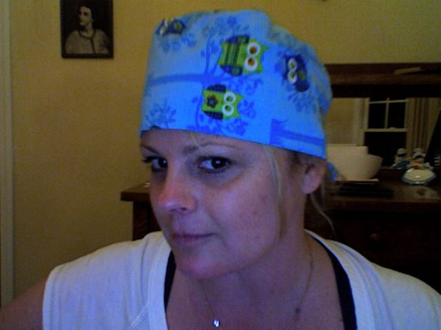 Homemade Scrub Hats Simplicity Pattern Homemade Scrub Scrub