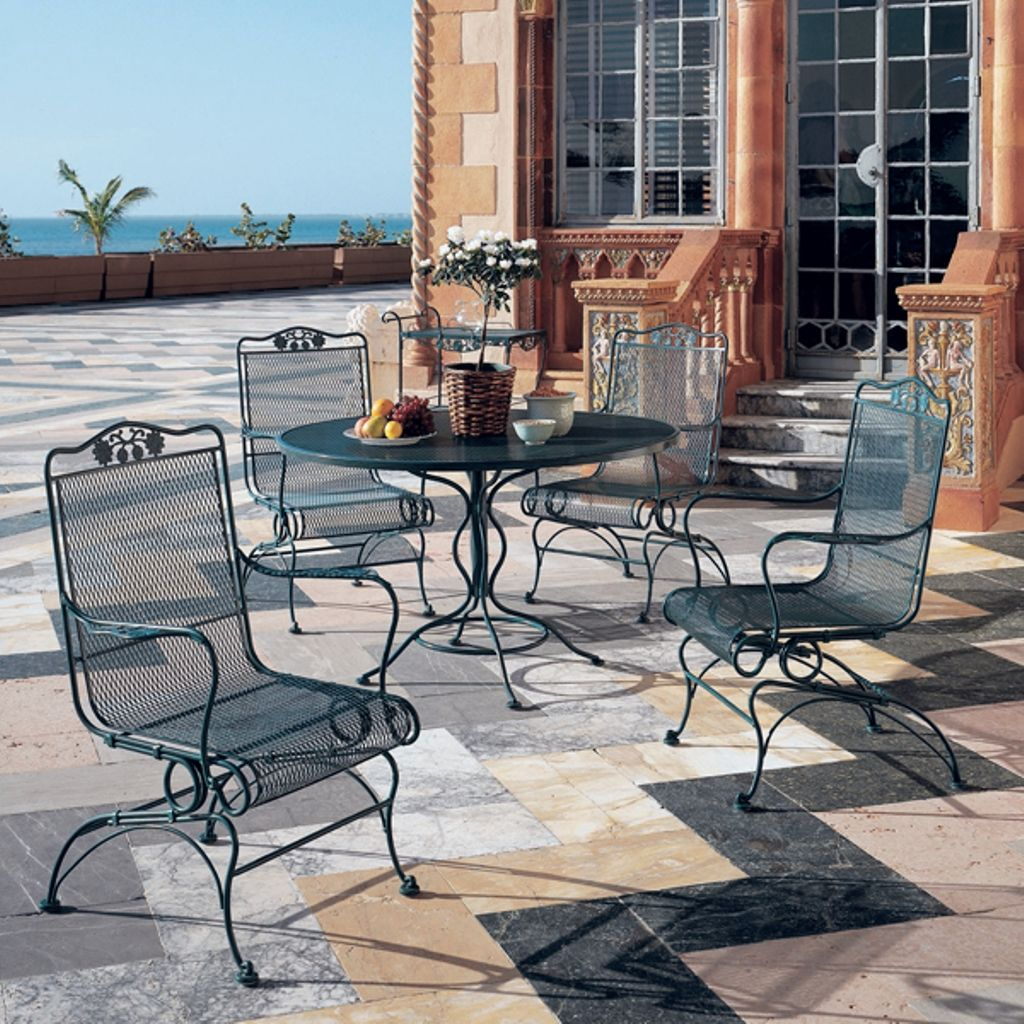 cheap wrought iron patio furniture