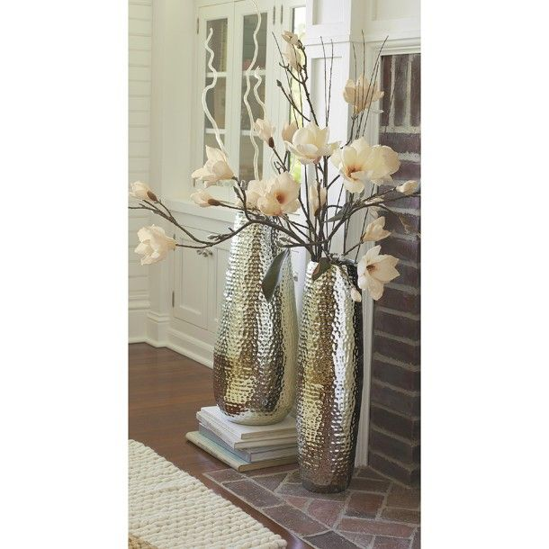 Threshold Hammered Metal Floor Vase Collection Http Www Target Com P Threshold 153 Hammered