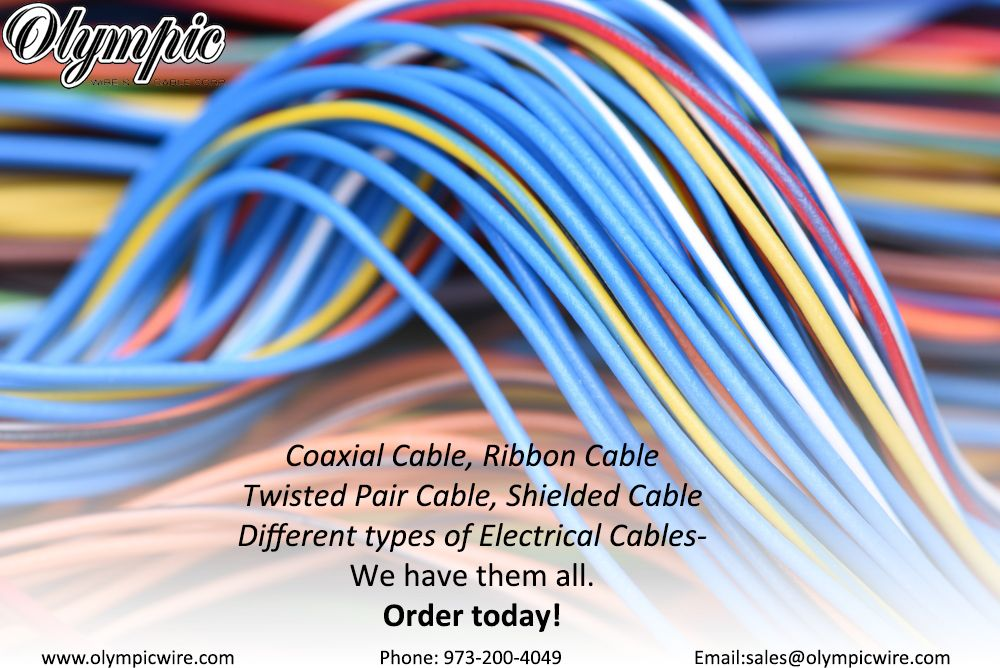 CoaxialCable, #RibbonCable #TwistedPairCable, #ShieldedCable ...