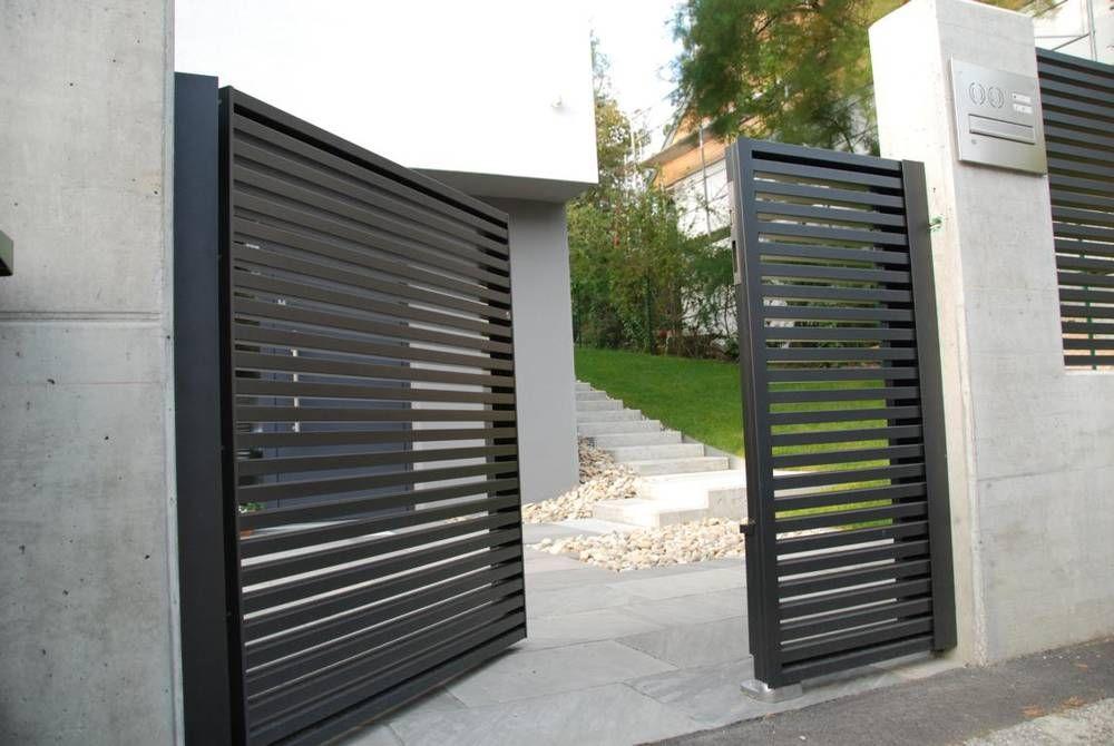 Designzaun magnus super vorgarten pinterest - Gartenturen aus metall ...