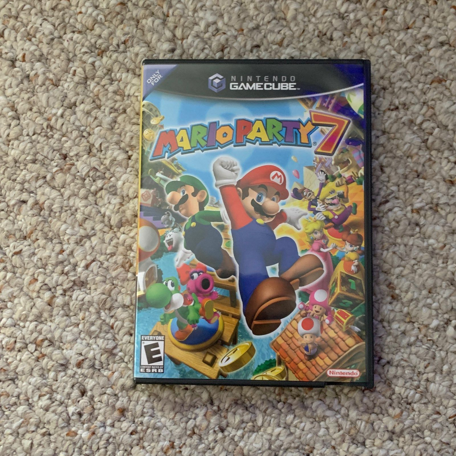 I Am Selling Mario Party 7 For Nintendo Gamecube Comes With Instruction Manual And Original Inserts Disc Runs But Has Some Mario Party 7 Mario Party Gamecube