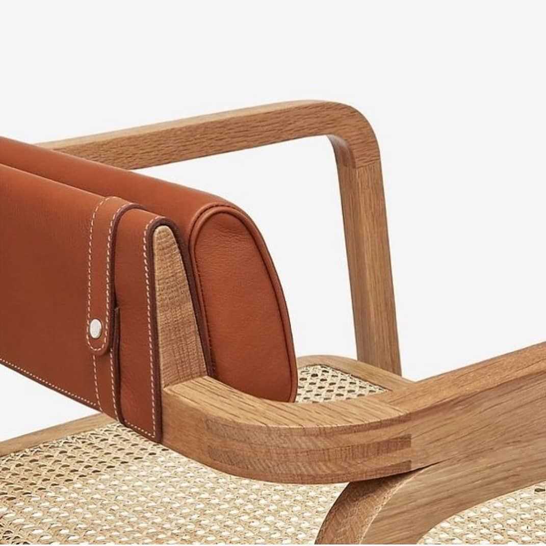 Oria armchair By Rafael Moneo for @hermes @details_furniture