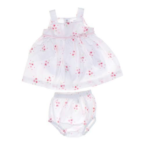 SWEET Fine Delicate Knit Baby Doll Outfit w//Rosebuds For Reborn PINK
