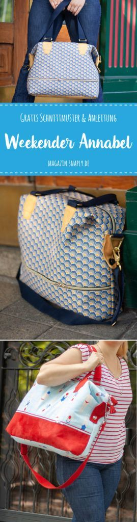 "Photo of Kostenloses Schnittmuster: Weekender ""Annabel"" 