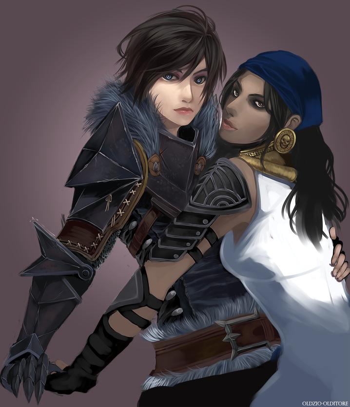 Dragon age origins lesbian fan fiction