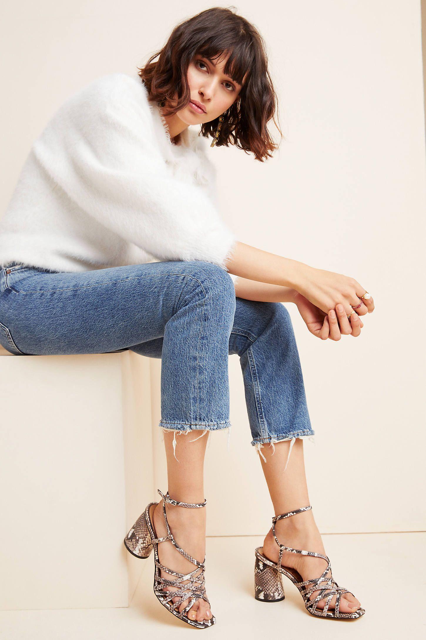 Sam Edelman Daffodil Strappy Heels By In Black Size 7 Modesens In 2020 Sam Edelman Strappy Heels Edelman