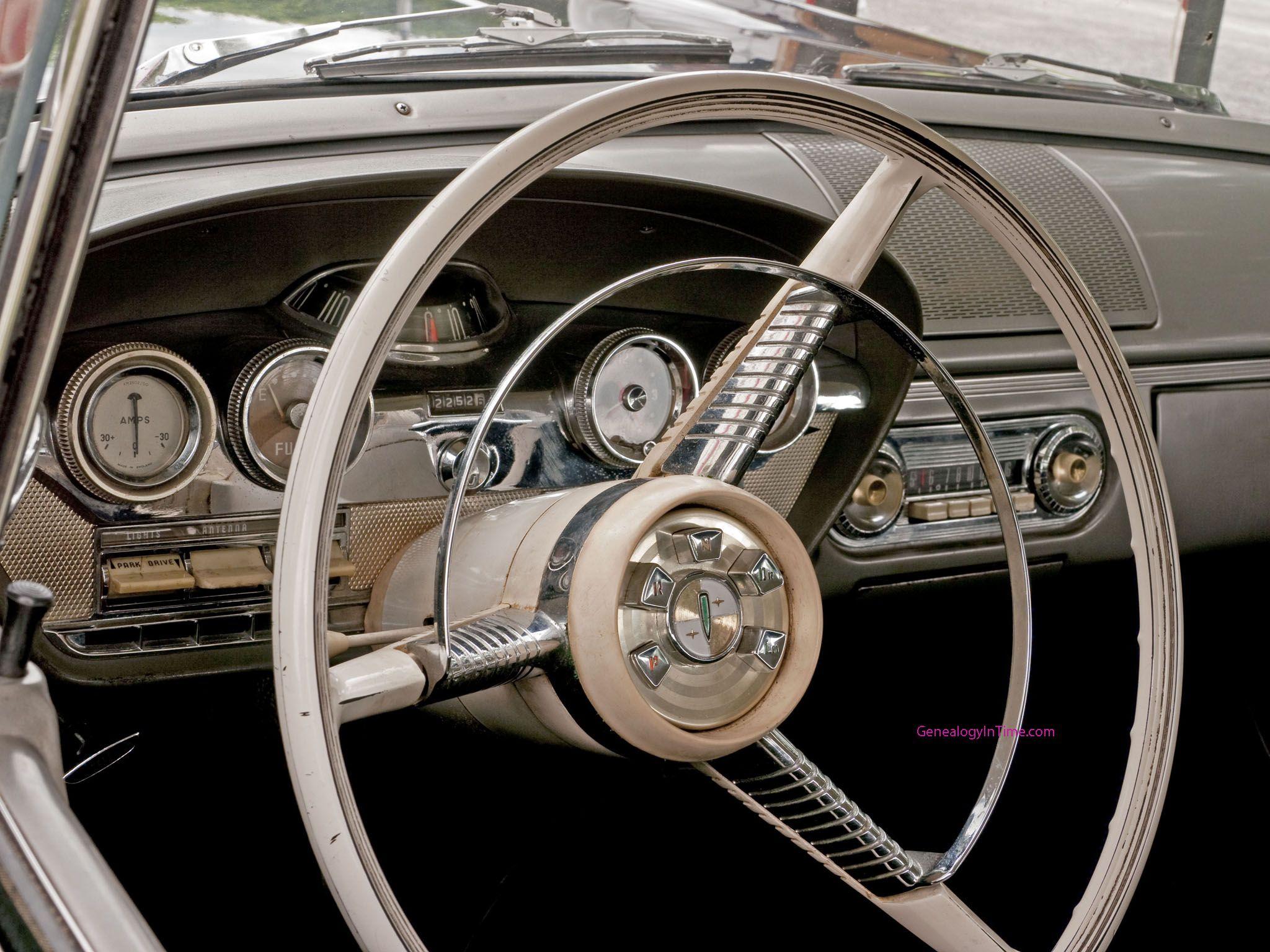 Edsel Instrument Panel