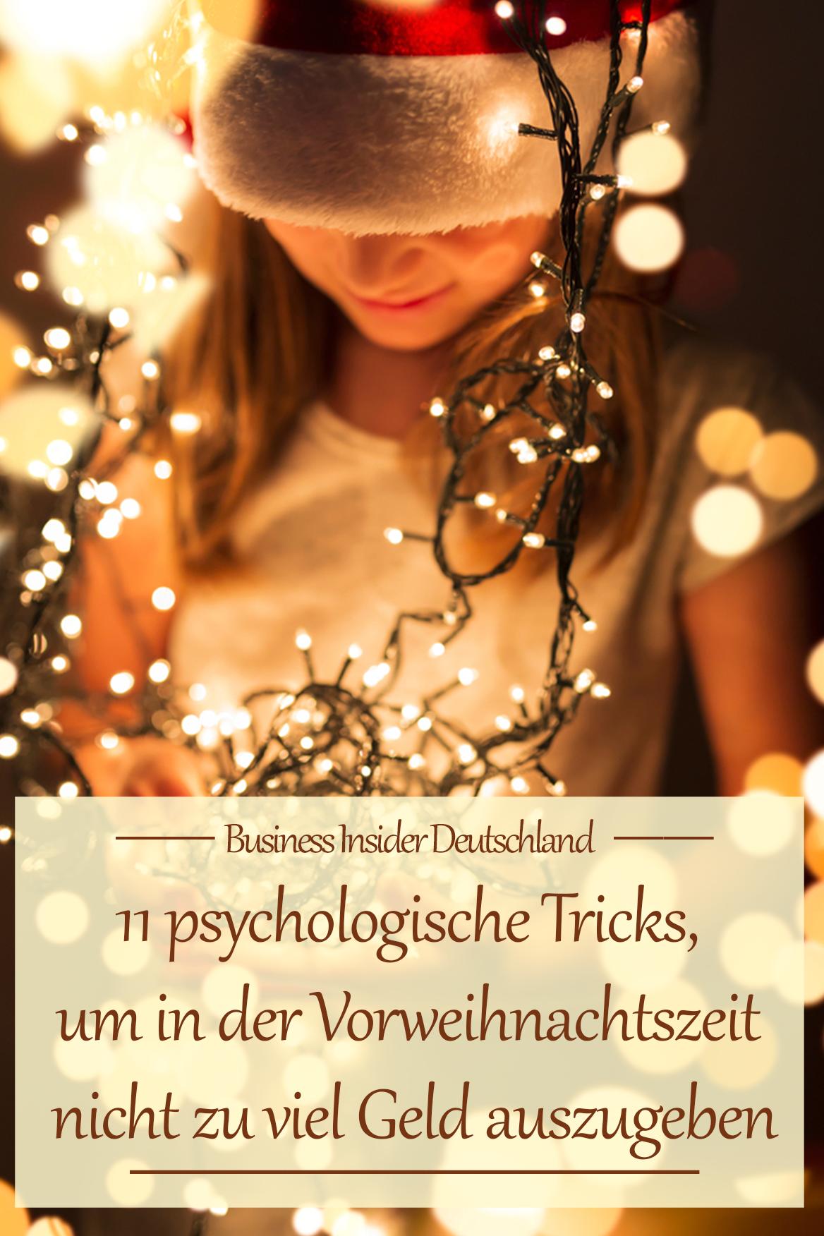 11 psychologische Tricks, um in der Vorweihnachtszeit nicht zu viel ...
