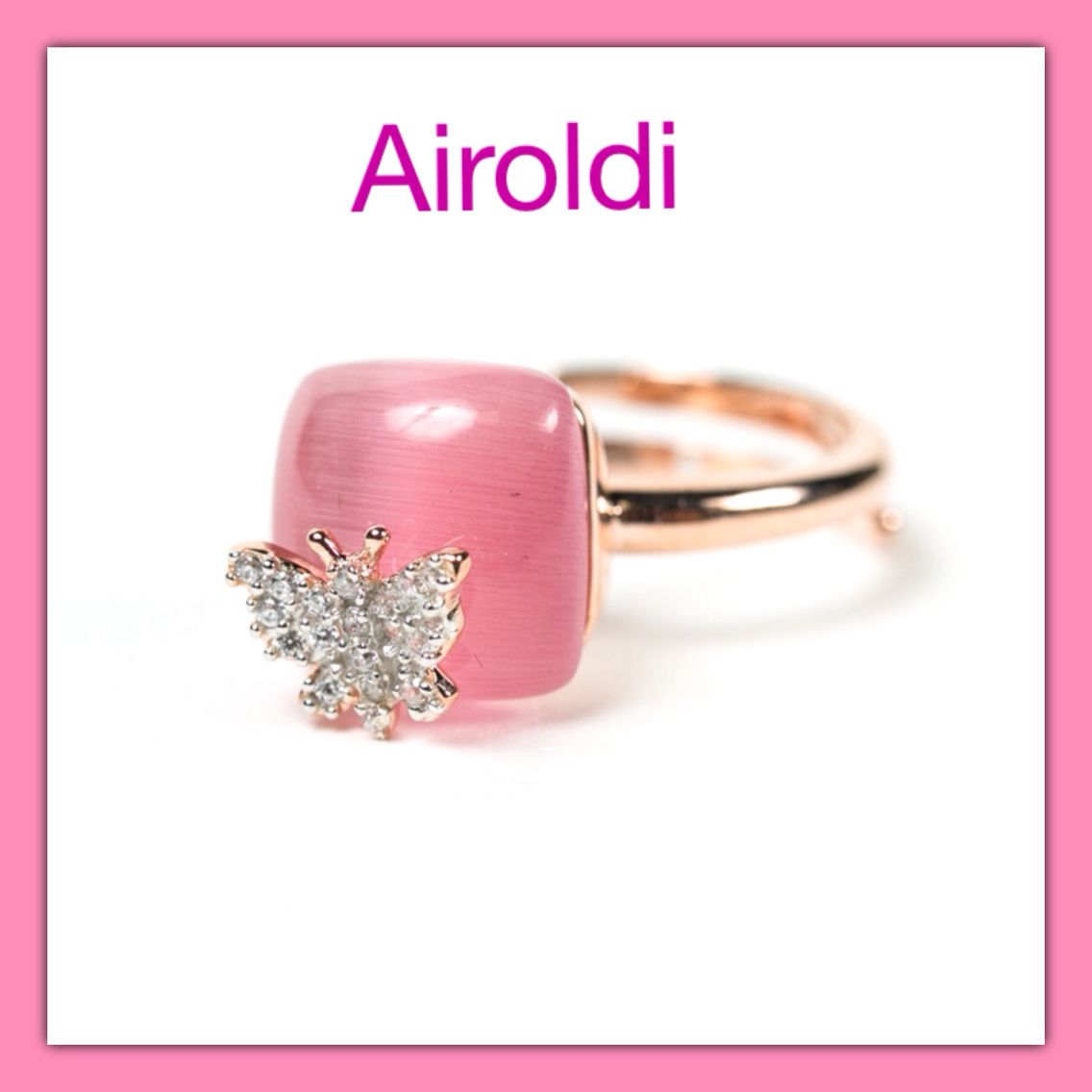 Anello in Argento e zircone Airoldi www.airoldifashion.com | bijoux ...