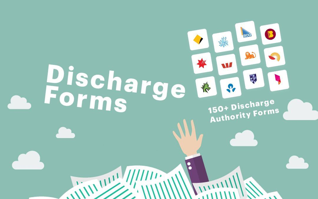 Discharge Forms Refinance Authorities Request To Release Forms