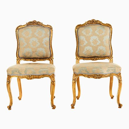 Antike Stühle im Louis XV Stil, 2er Set Jetzt bestellen unter: https ...