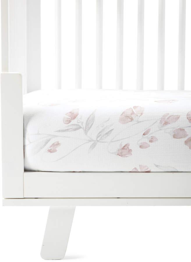 Serena Lily Sweet Pea Crib Sheet
