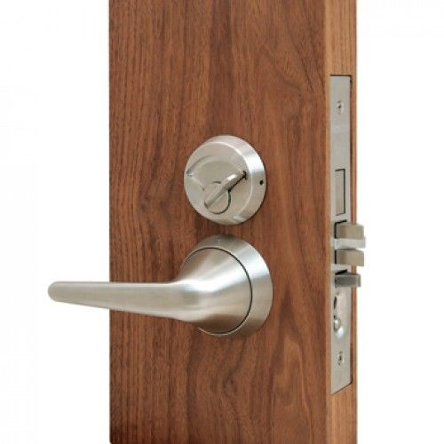 Townsteel MRX-S-L-IC-26 Grade 1 Anti-Ligature Mortise IC Core Lever Lockset with Sectional Trim - Institutional Privacy Function