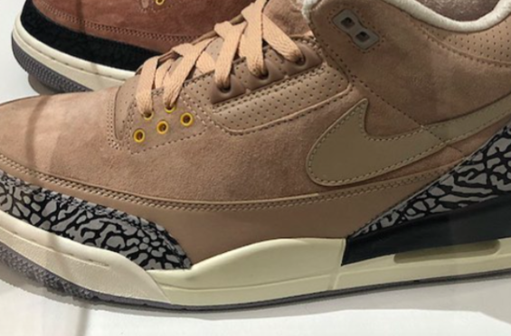 7233a75248a415 Air Jordan 3 JTH Bio Beige Dropping This Summer