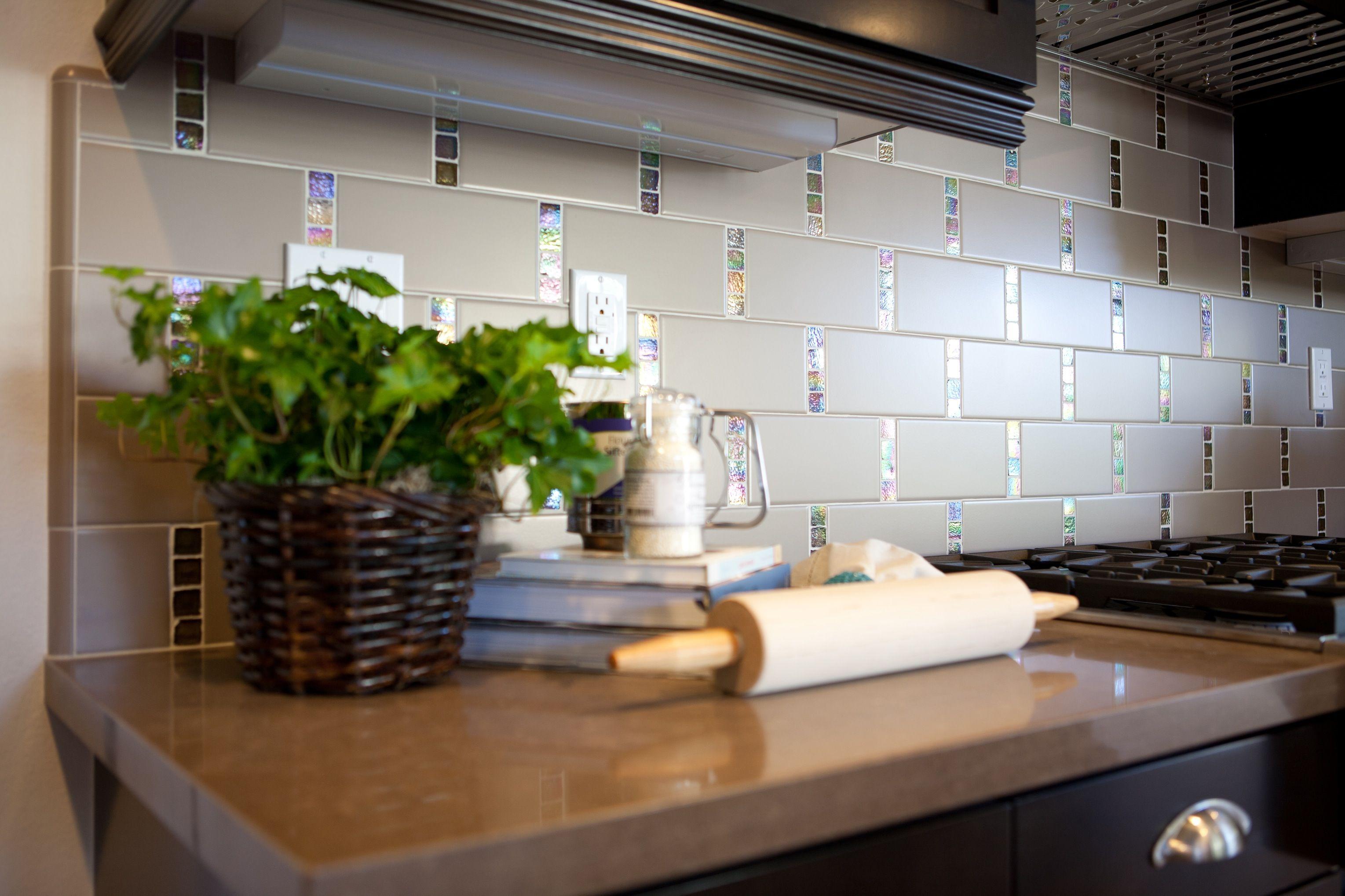 Küchenideen mit dunkelbraunen schränken res  upgraded kitchen slab u tile accents  we showcase an
