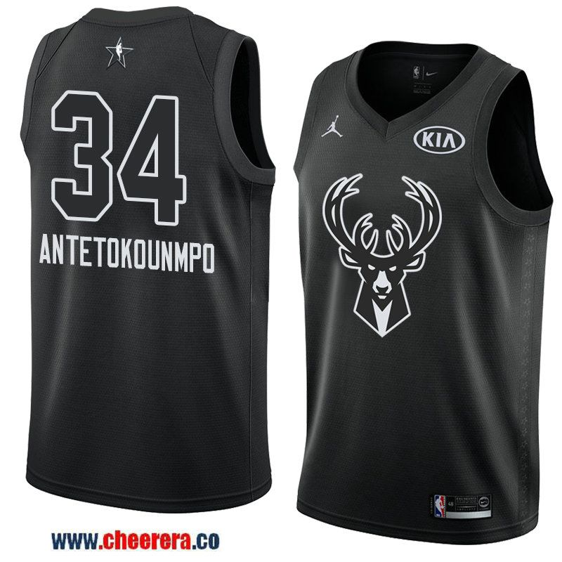7d67e1276 men s eastern conference milwaukee bucks  34 giannis antetokounmpo black  2018 nba all-star jersey