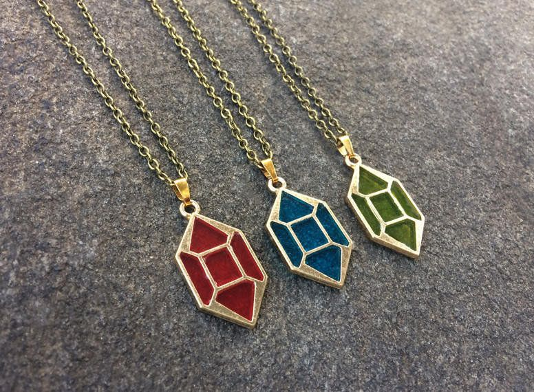 Legend of Zelda Necklaces made by 10EEStudio