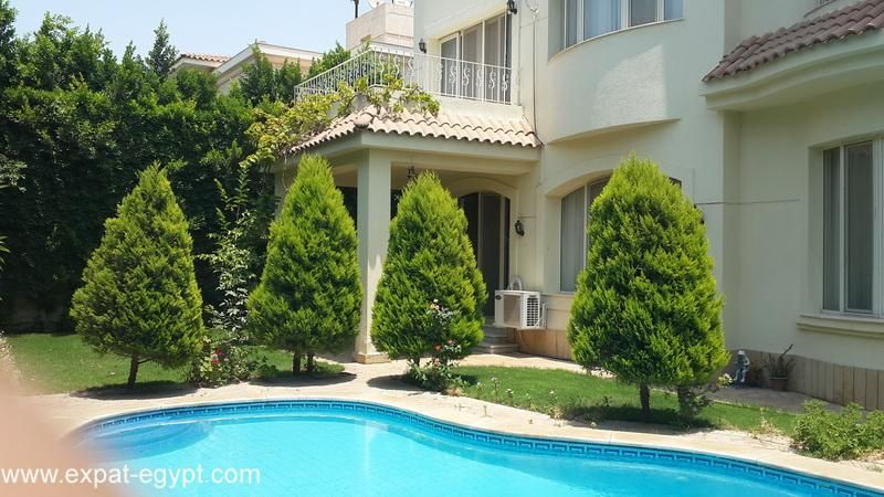 Villa For Rent In Royal Hills Compound 6th Of October City Cairo Egypt