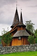 The old church of Hol, Norway
