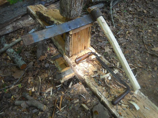 Making A Shingle Froe Tool Forum Timber Frame Forums Shingling Timber Frame Splitting Wood