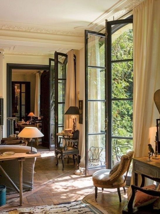 99 Inspiring French Living Room Decorating Ideas
