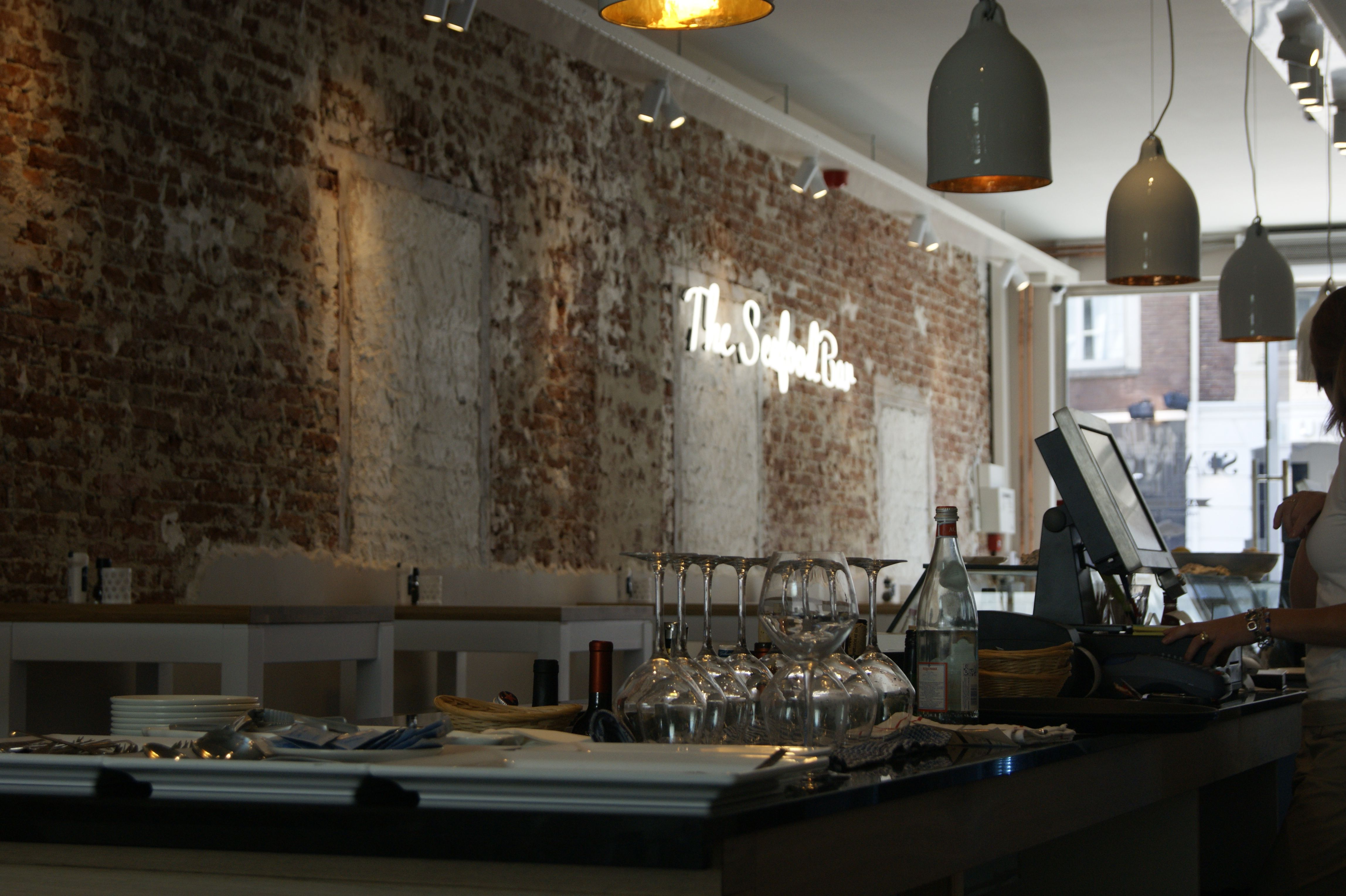 wine bar Interior design | The Seafood Bar | delicacy journey | Bar ...