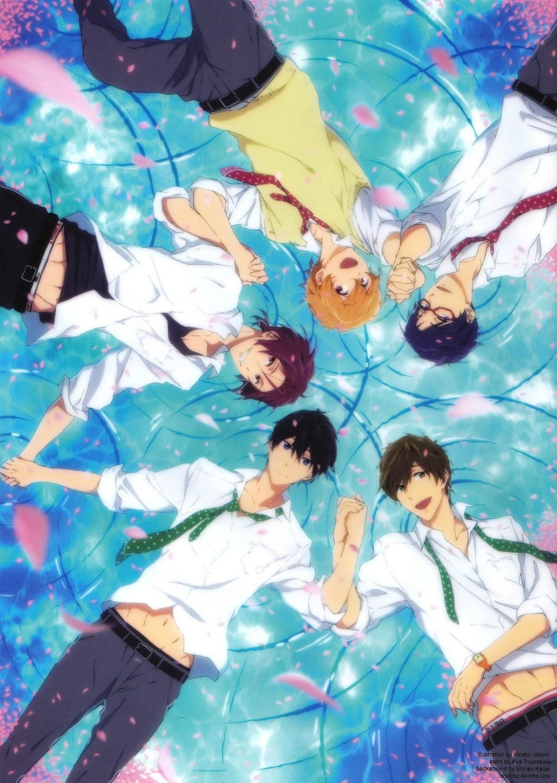 Joshua Momentai Knighten On Free Anime Free Iwatobi Swim Club