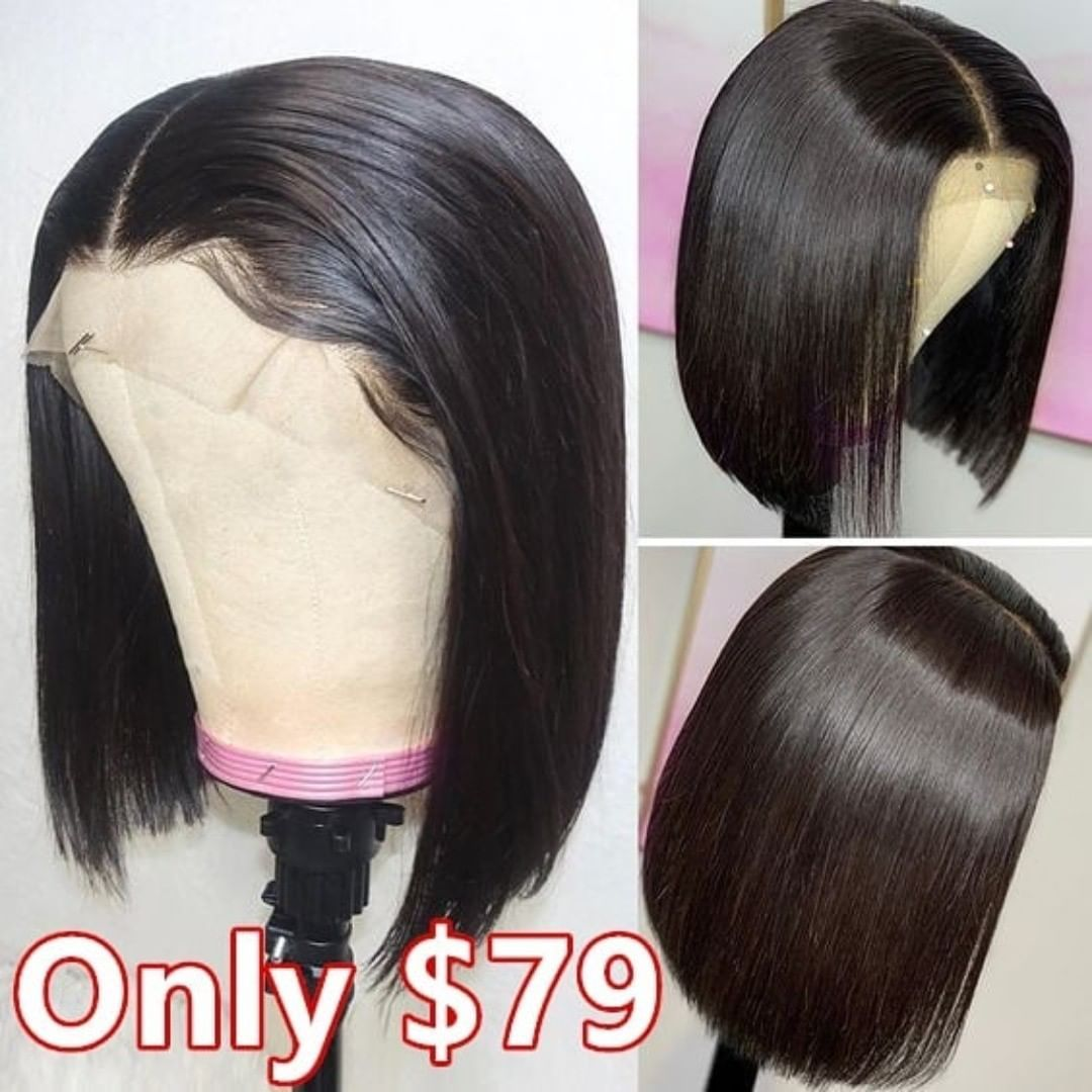 Yoowigs Royal Hd Film Lace Short Lace Front Wigs Remy Human Hair Wigs Front Lace Wigs Human Hair