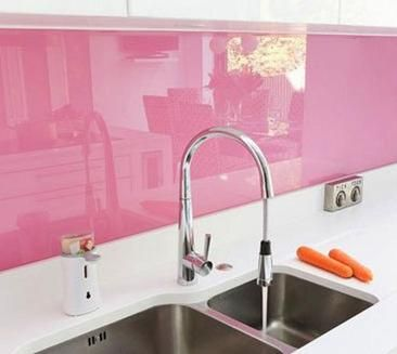 Pink Kitchen Tiles Modern Ceramic Tile For Plus Interesting Theme