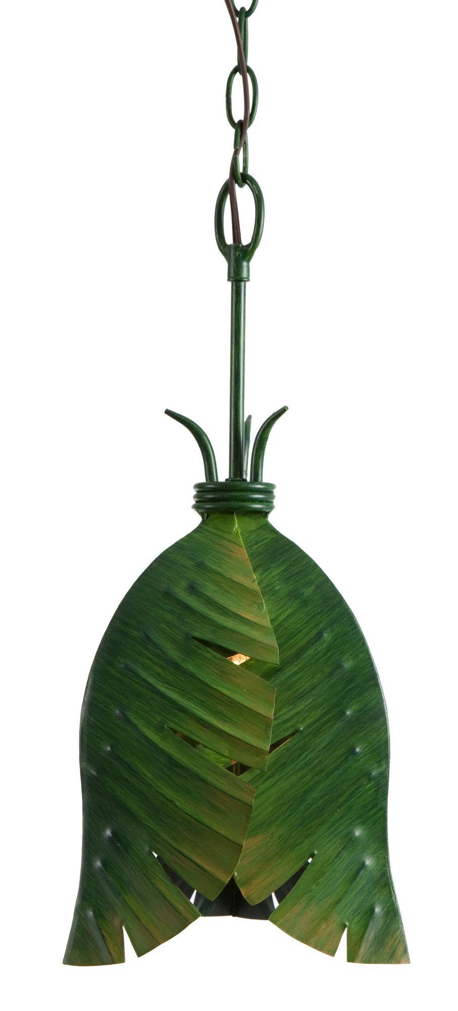 Varaluz Banana Leaf 1 Light Pendant | AllModern