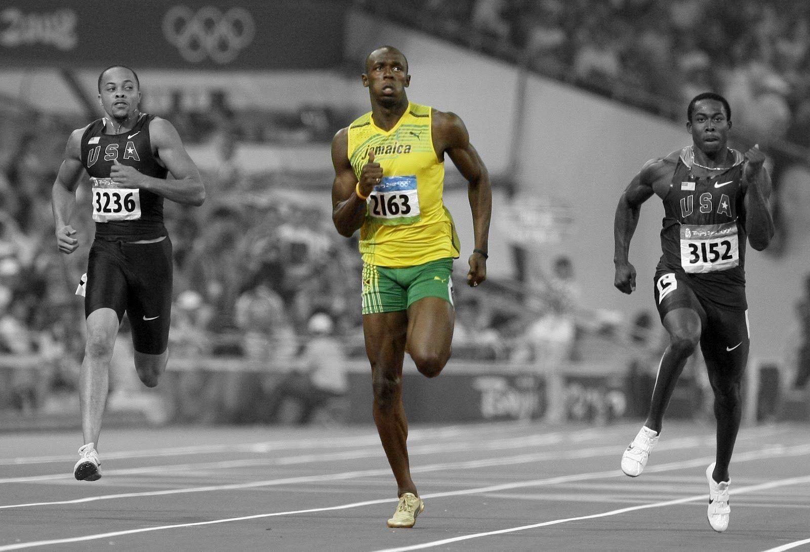 Usain Bolt Hd Wallpapers Hd Wallpapers Inn Usain Bolt Usain Bolt Running Sprinter